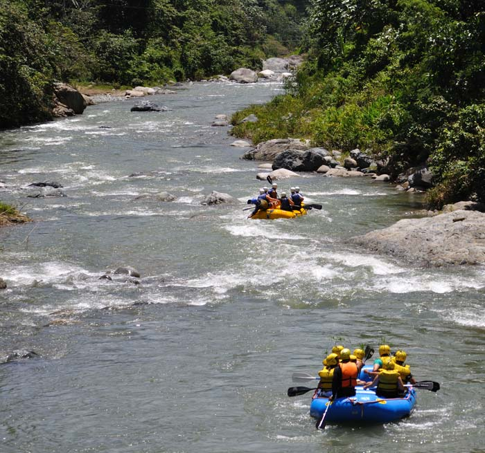 River Rafting Excursion Dominican Republic Jarabacoa
