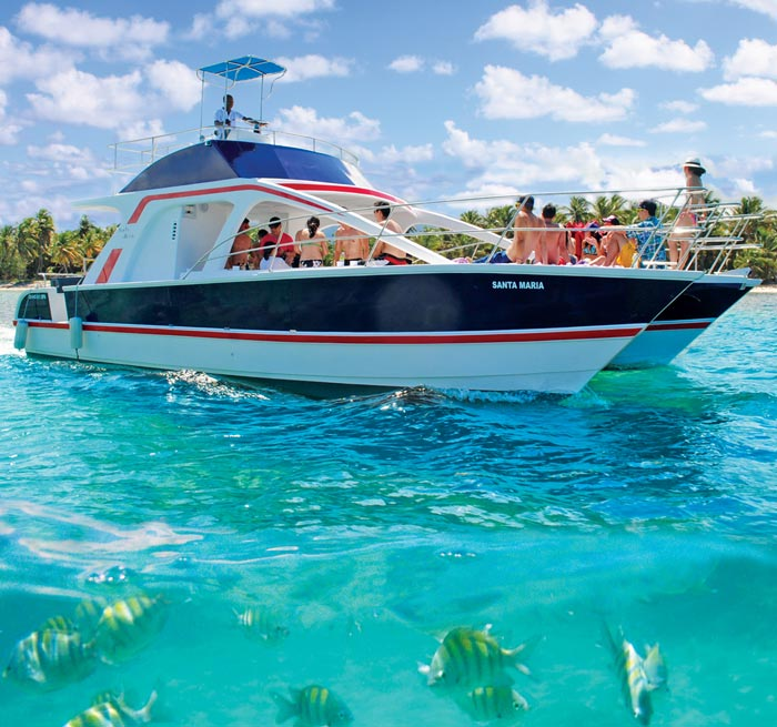 CATAMARAN EXCURSION from Punta Cana - Dominican Republic